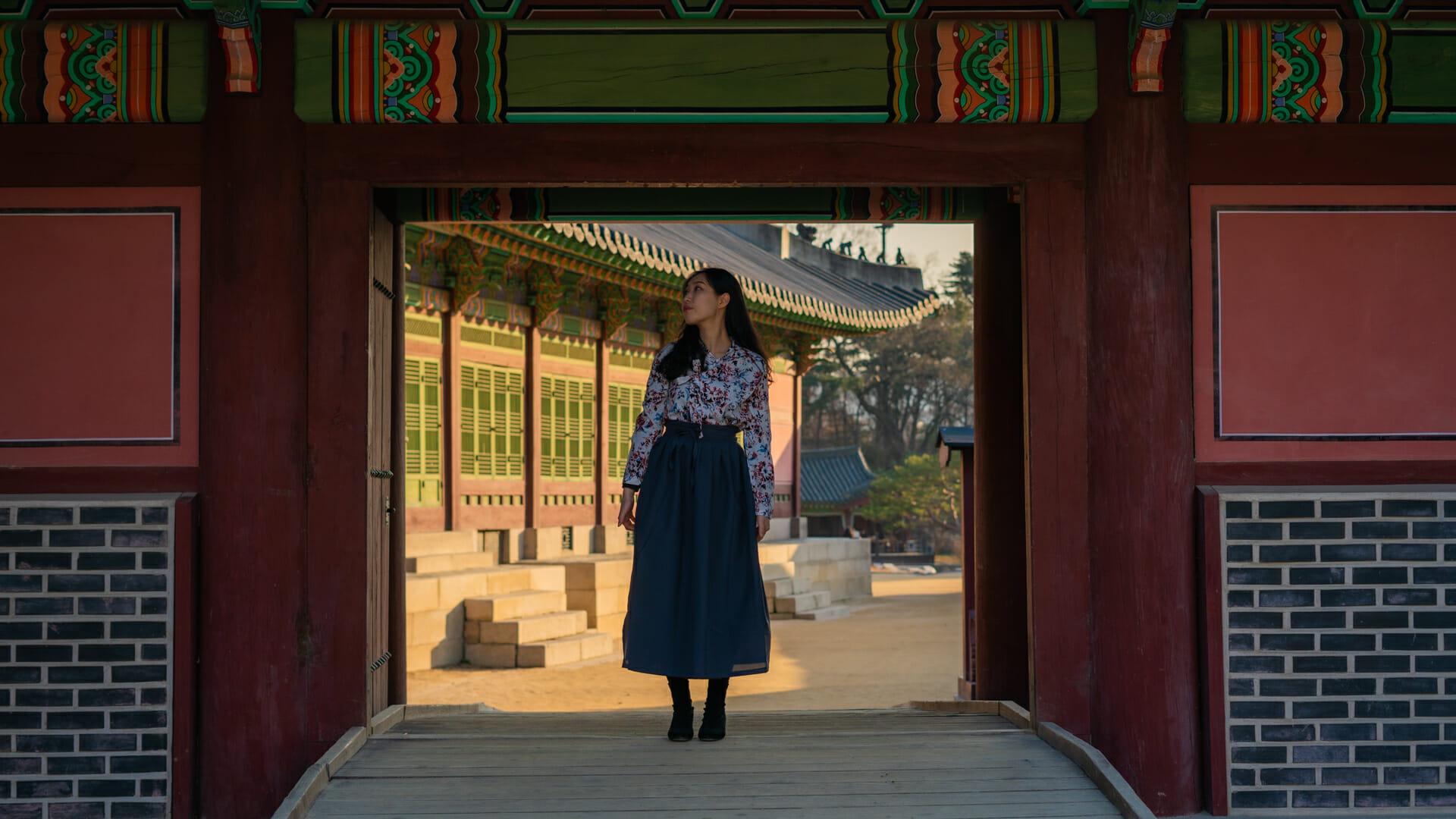 Changdeokgung Palace Hanbok Seoul
