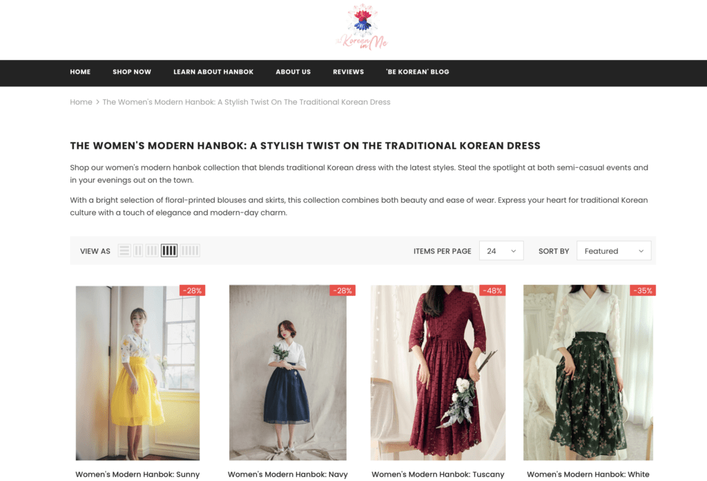 Modern Hanbok Guide - Where to Buy Korean Modern Hanbok, History, and More 8